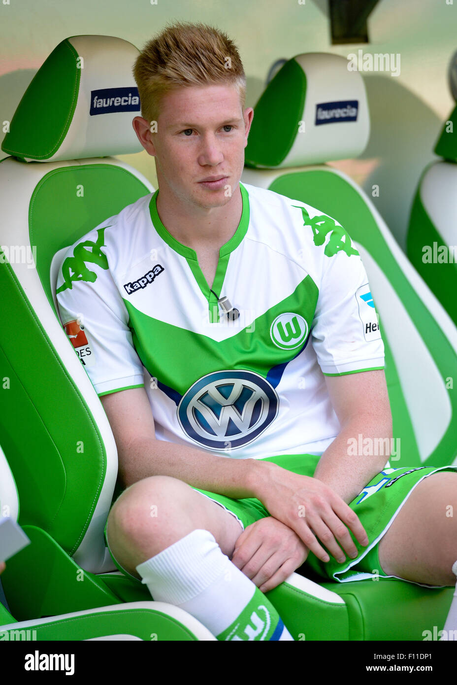 super popular 9be35 098a6 Wolfsburg, Germany. 5th Aug, 2015. VfL Wolfsburg player ...