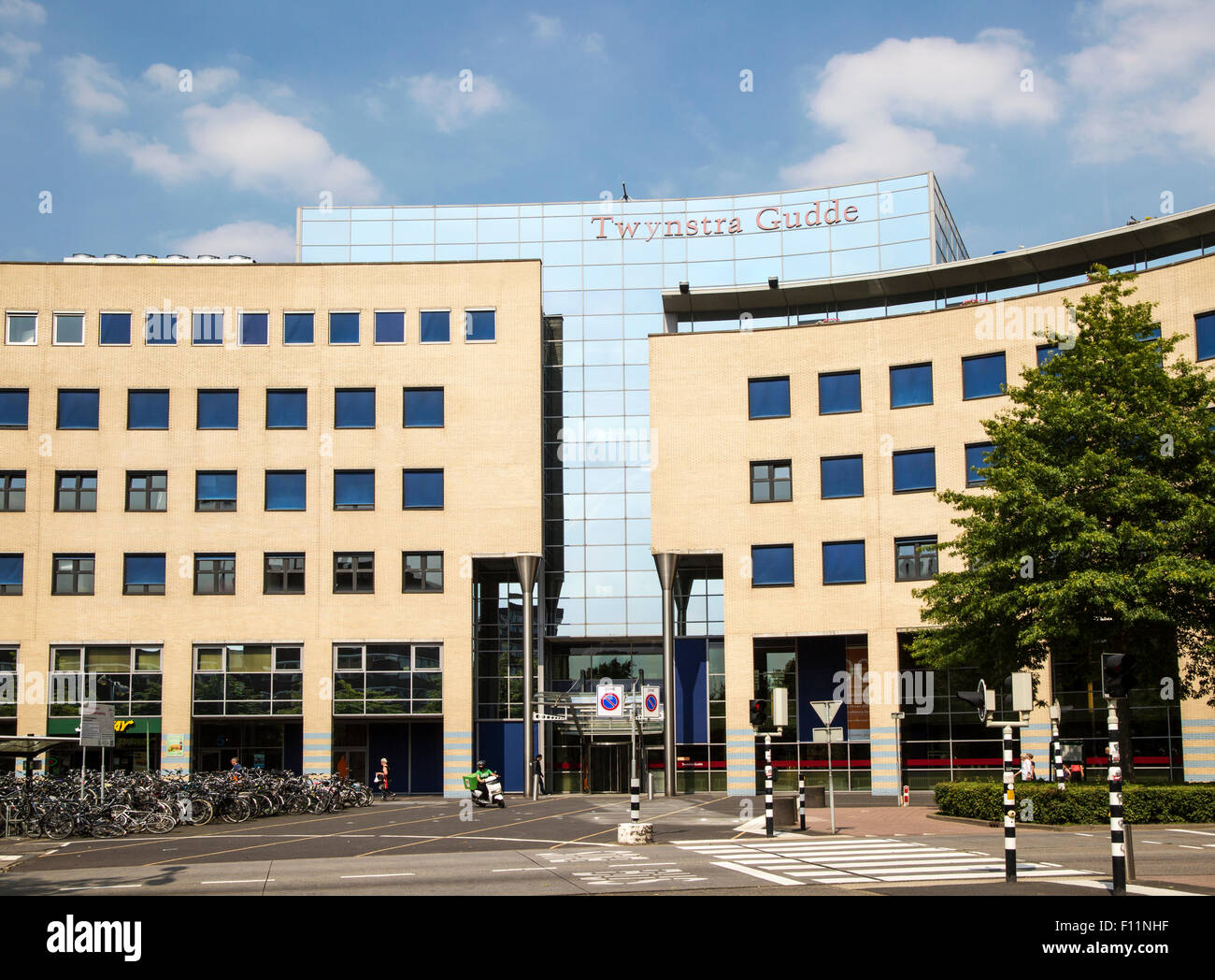 Modern architecture Twynstra Gudde management consultants offices, Amersfoort, Netherlands - Stock Image