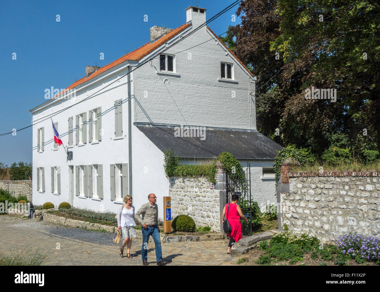 Le Caillou, Napoleon's Last HQ / Headquarters, museum about 1815 Napoleonic war, the Battle of Waterloo, Vieux - Stock Image