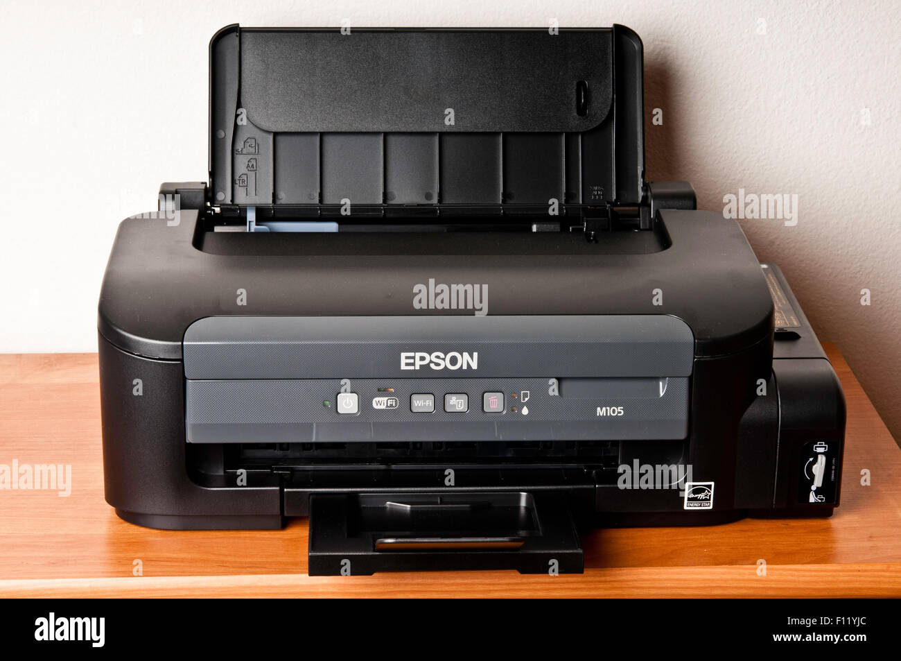 Epson M105 monochrome printer - Stock Image
