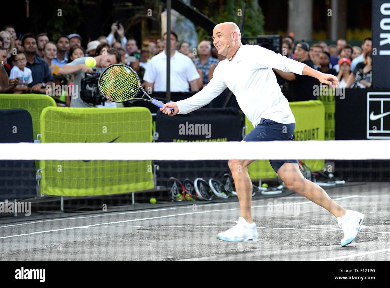 new product e7845 1443e Andre Agassi in attendance