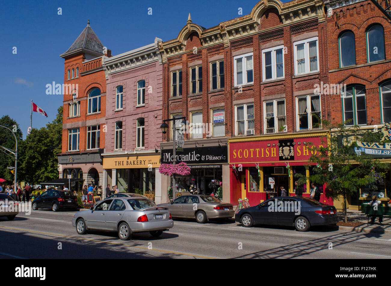 Ontario Canada Downtown Street view dow...