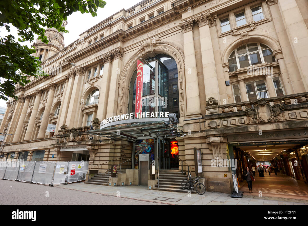 royal exchange theatre Manchester England UK - Stock Image