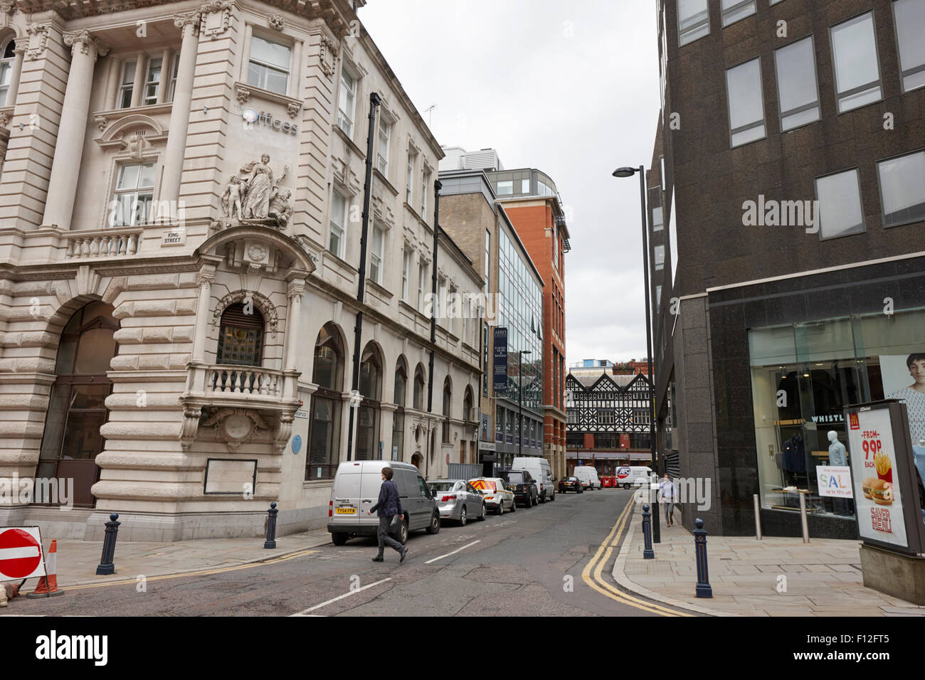 cheapside Manchester city centre uk - Stock Image