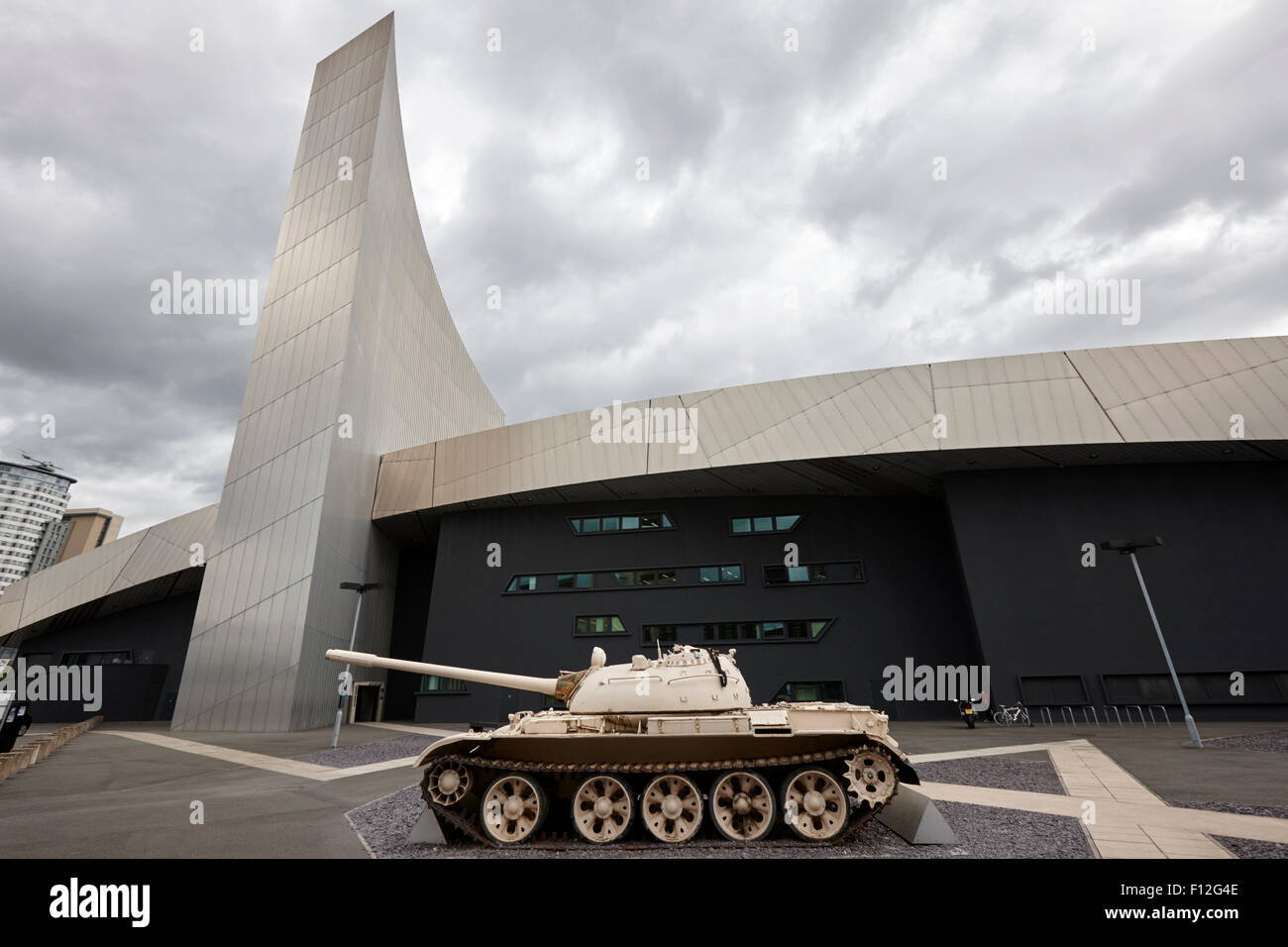 imperial war museum north iwm Manchester uk - Stock Image