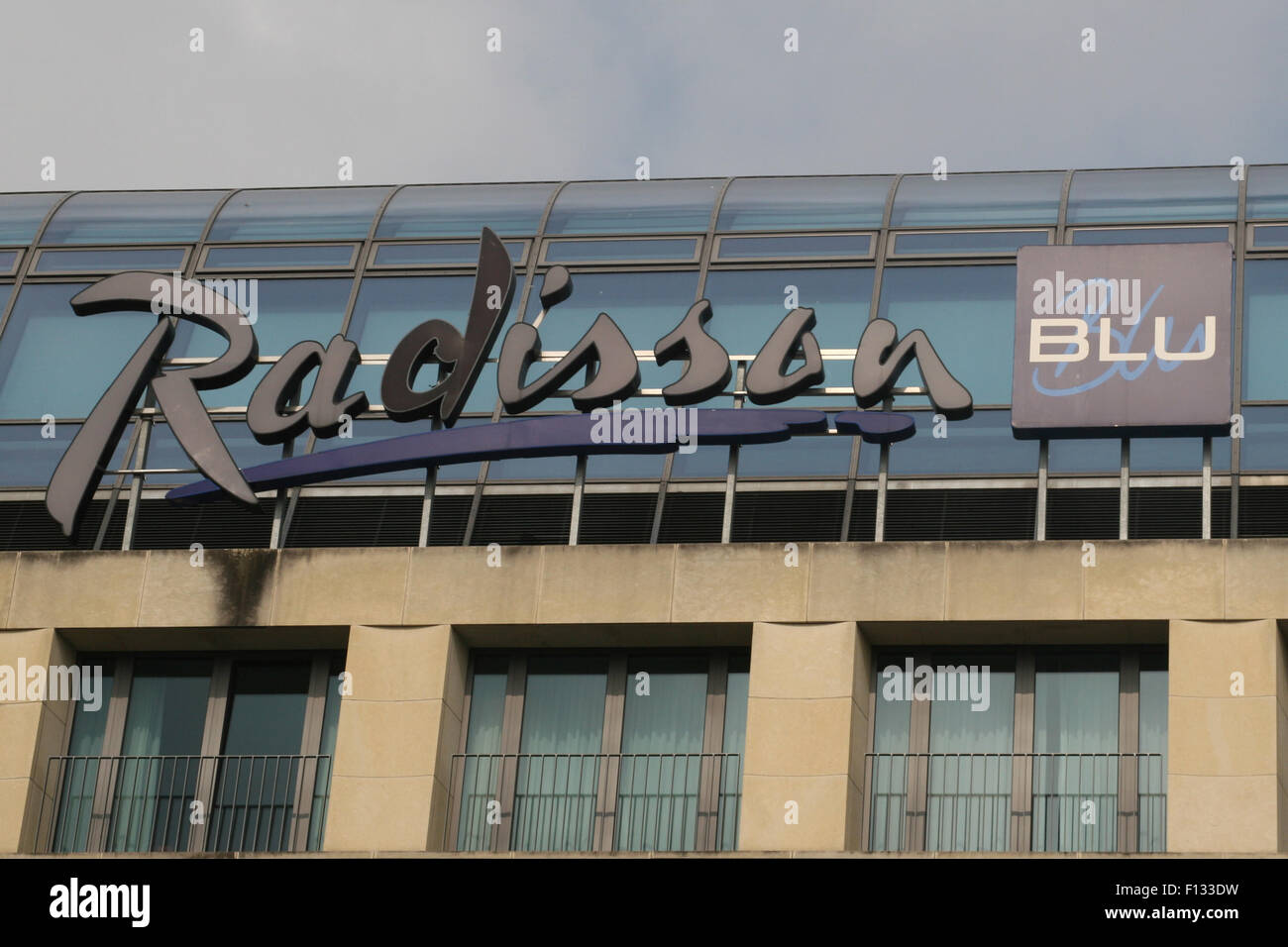 RADISSON BLU BERLIN GERMANY - Stock Image
