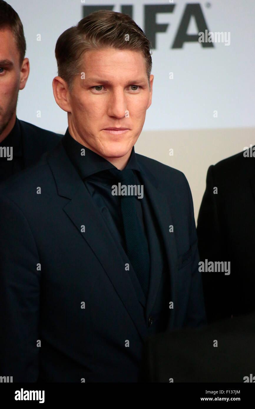 Bastian Schweinsteiger - Premiere des Films ueber den gewinn der Fussball Weltmeisterschaft 2014 'Die Mannschaft', - Stock Image