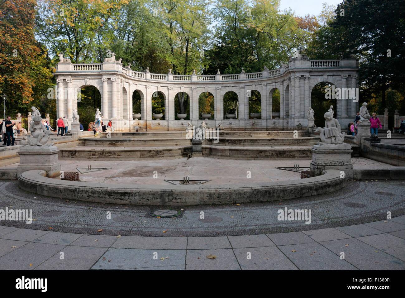 Maerchenbrunnen, Volkspark Friedrichshain, Berlin-Prenzlauer Berg. - Stock Image