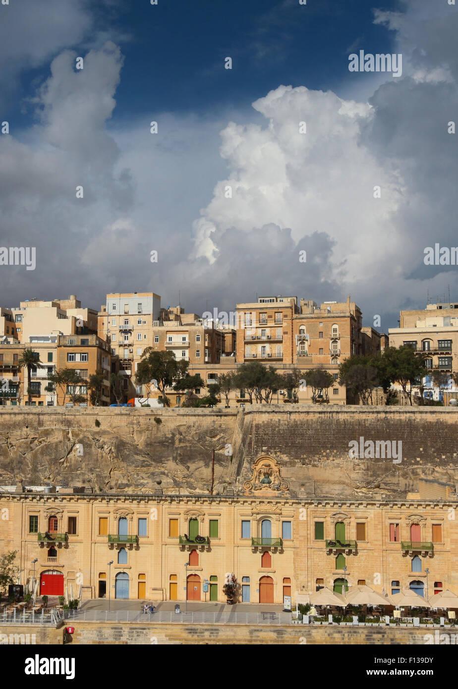 Valletta Malta Europe - Stock Image
