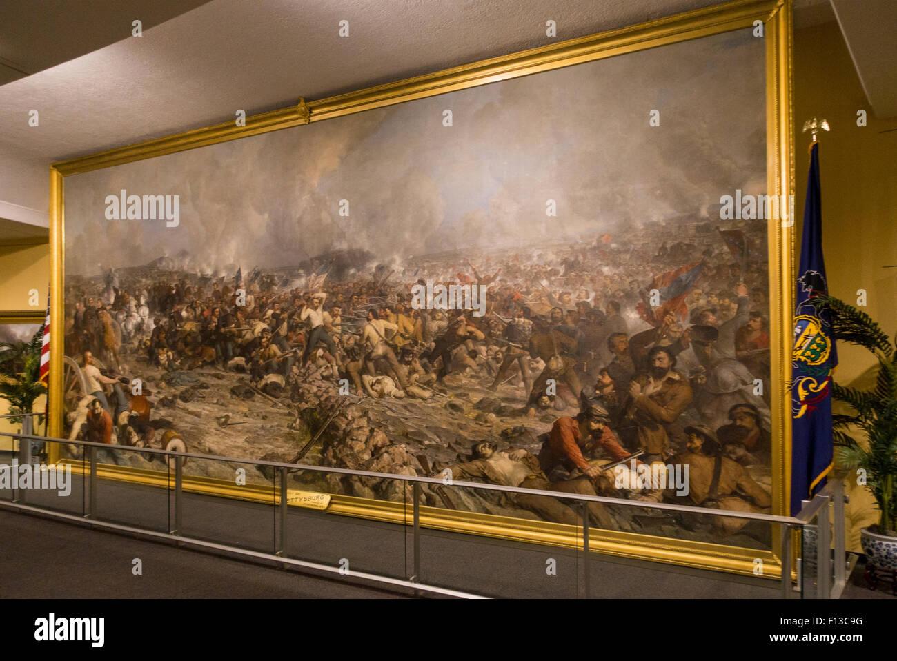 state museum of Pennsylvania PA Harrisburg Stock Photo
