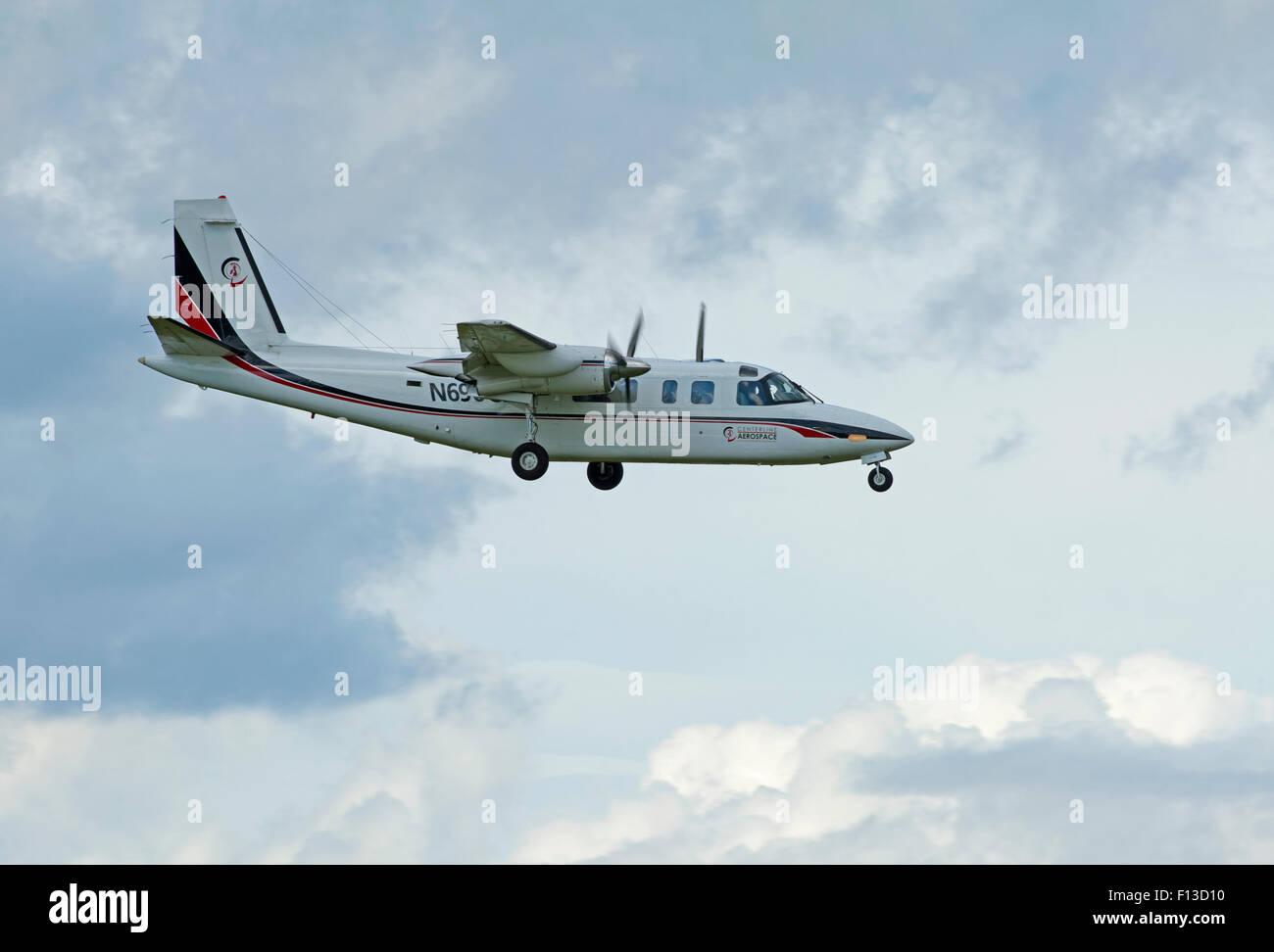 Centerline Aerospace Rockwell 690A Turbo Commander (N690CL)  SCO 10,049. Stock Photo