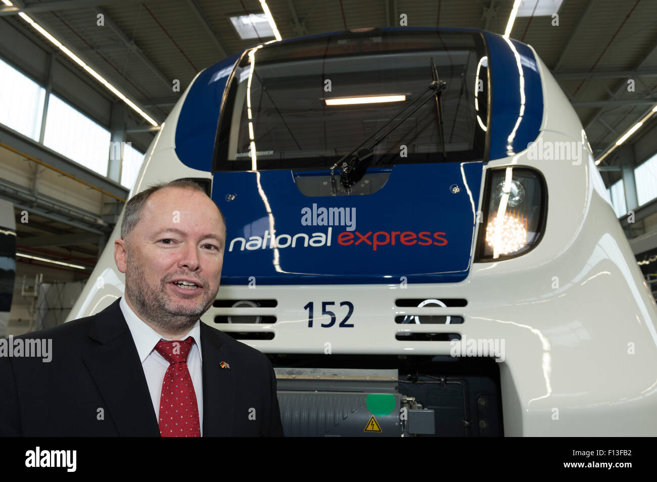 Hennigsdorf, Germany, Tobias Richter, Managing Director National Express Germany - Stock Image
