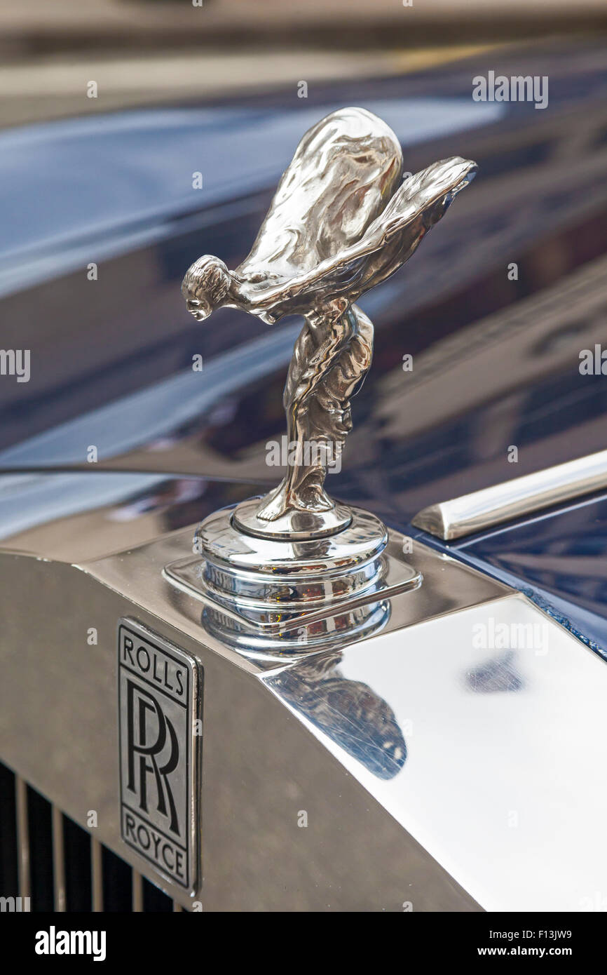 Rolls Royce Bonnet Mascot Stock Photos Rolls Royce Bonnet Mascot