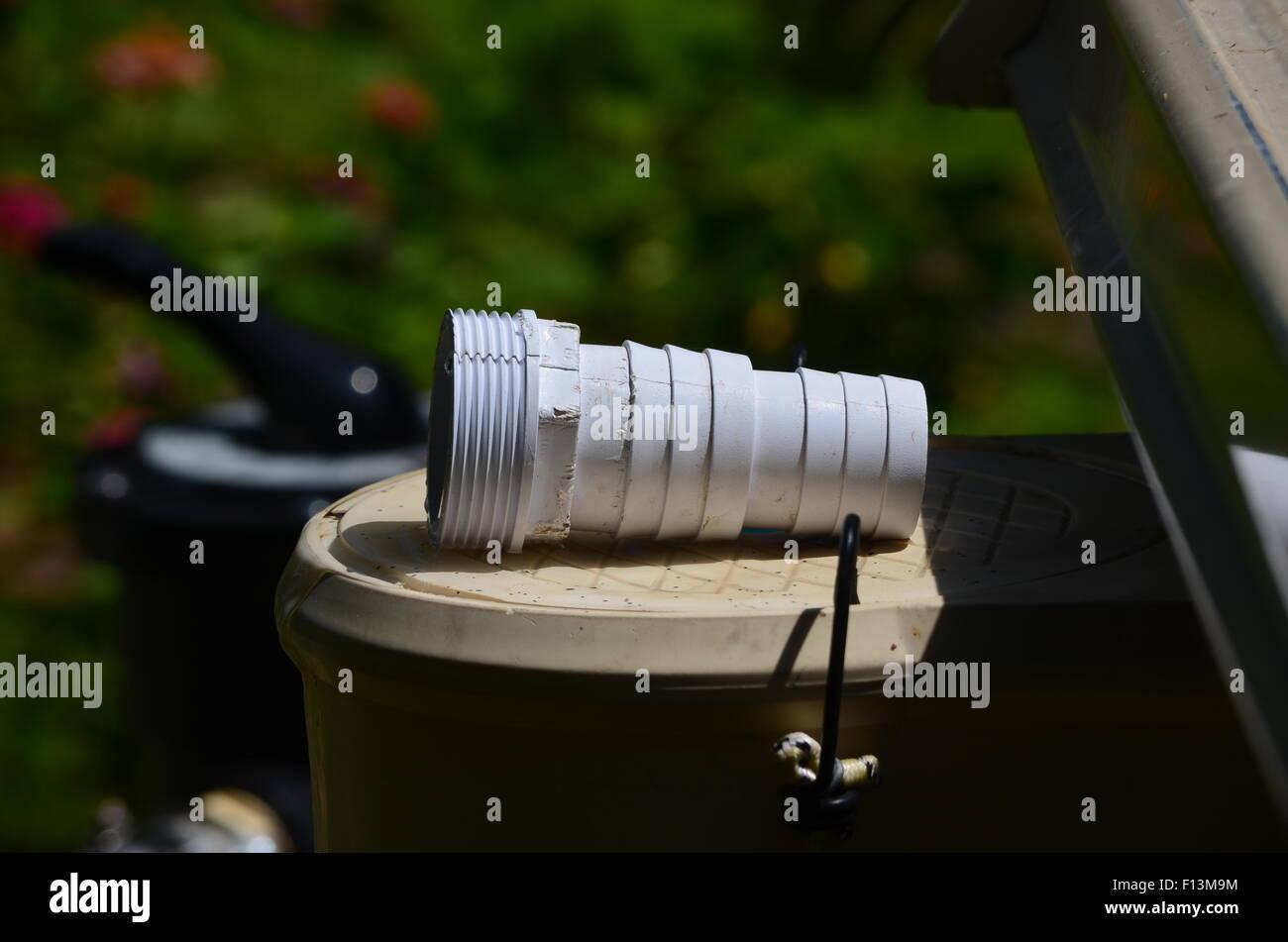 Plumbing fitting - Stock Image