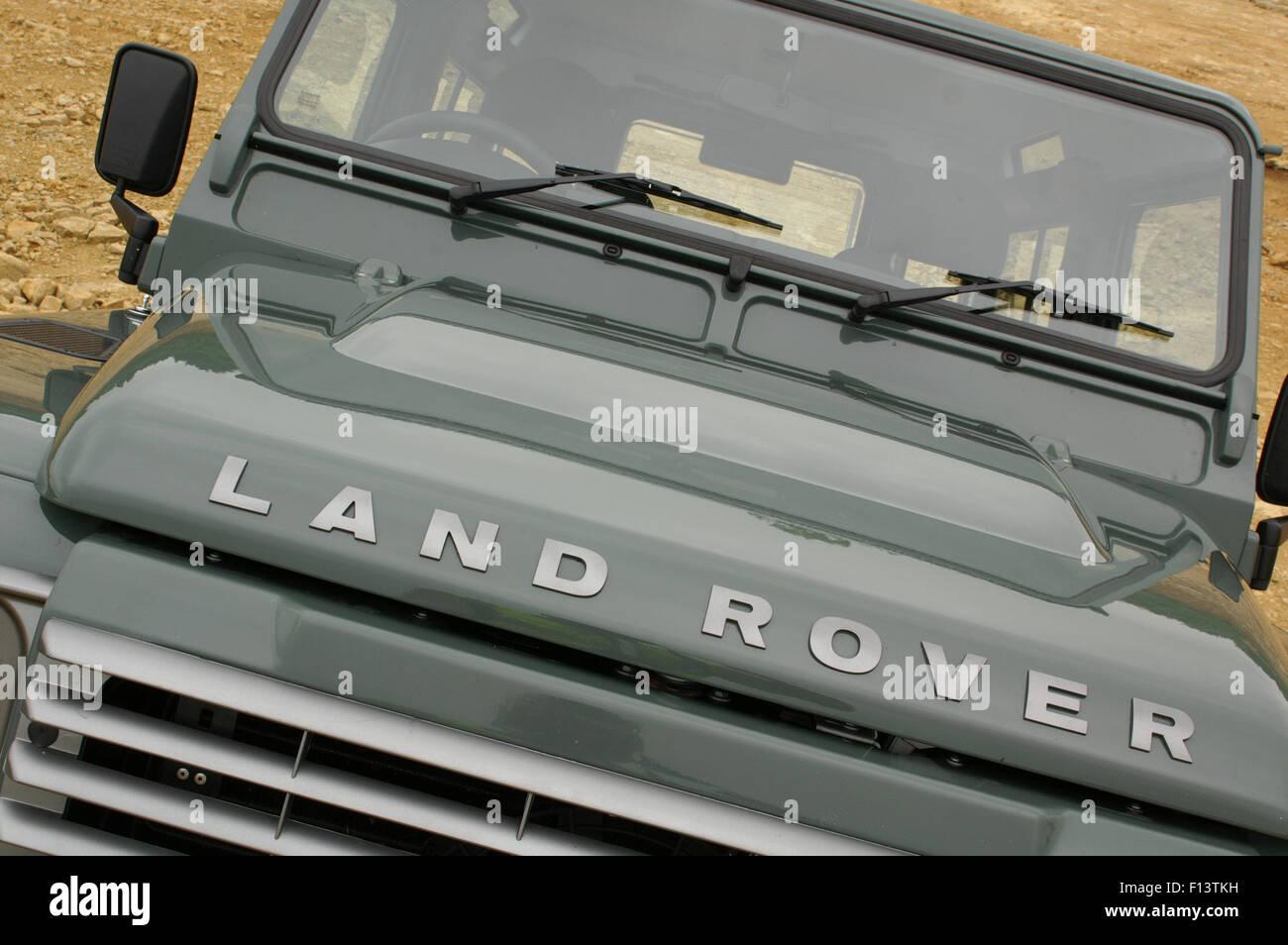 Land Rover Defender 90 XS 2007 model Stock Photo