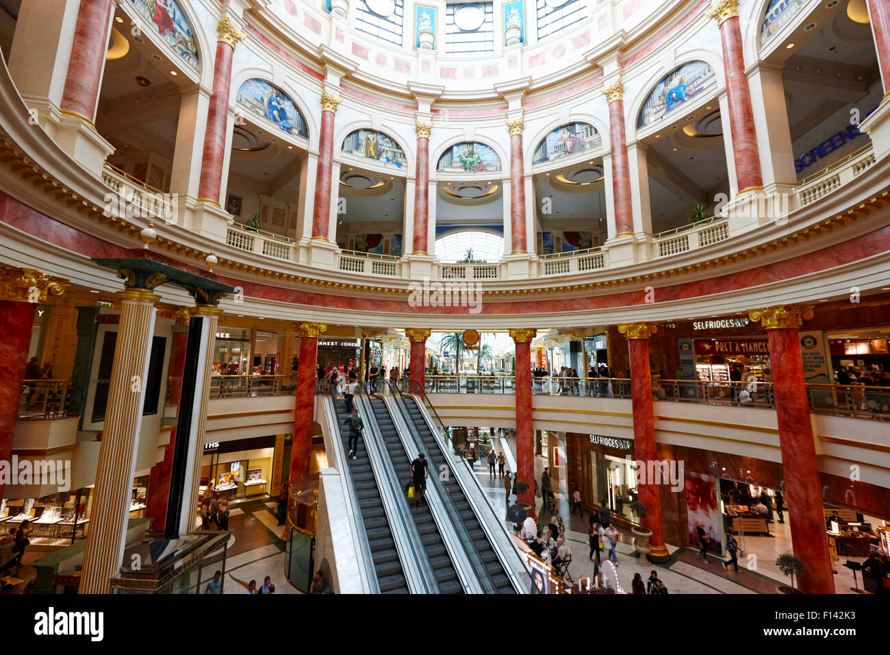 The trafford centre Manchester uk - Stock Image