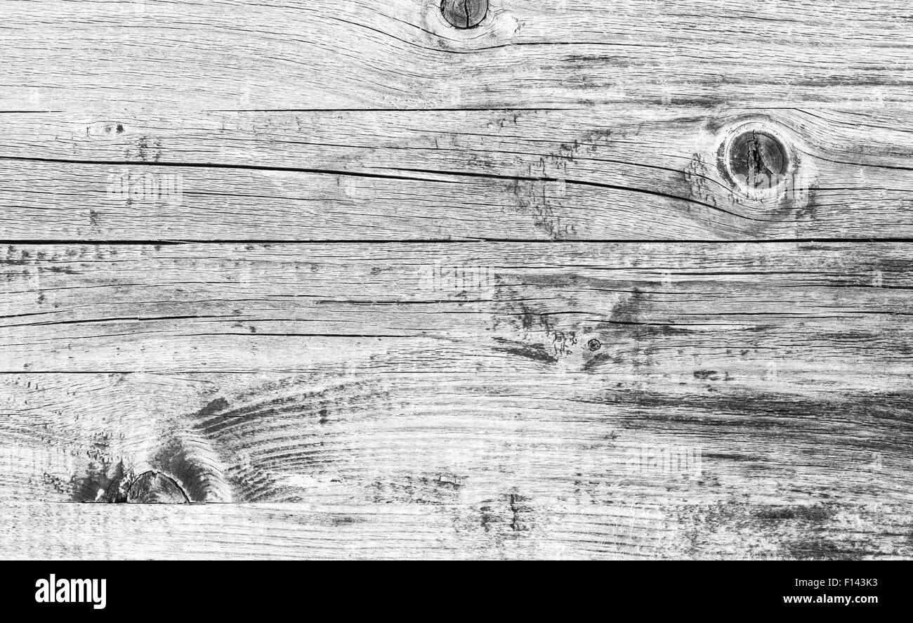 Gray wooden wall, closeup background photo texture - Stock Image