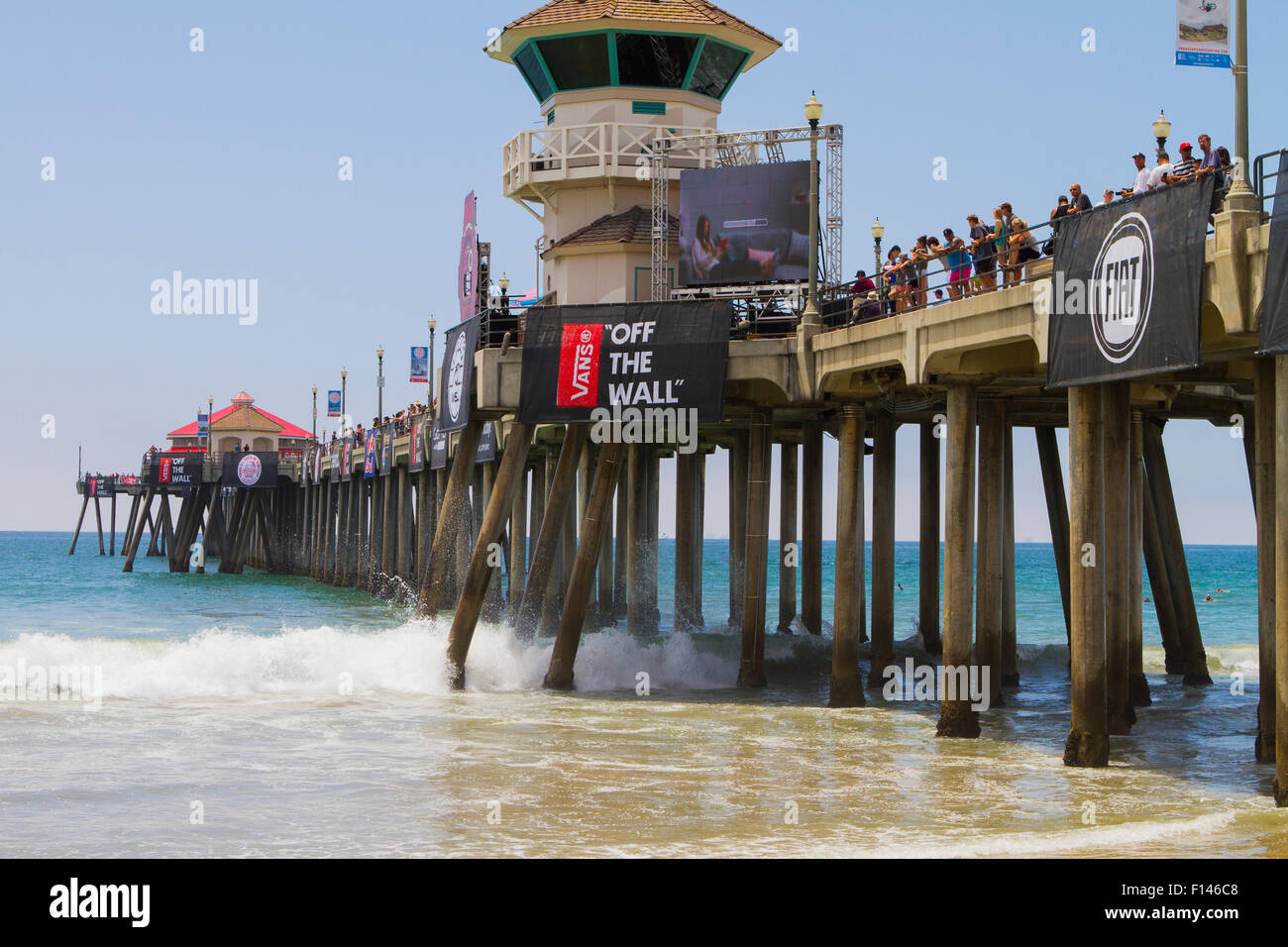 970e531ea0 Vans US Open of Surfing at Huntington Beach California USA - Stock Image