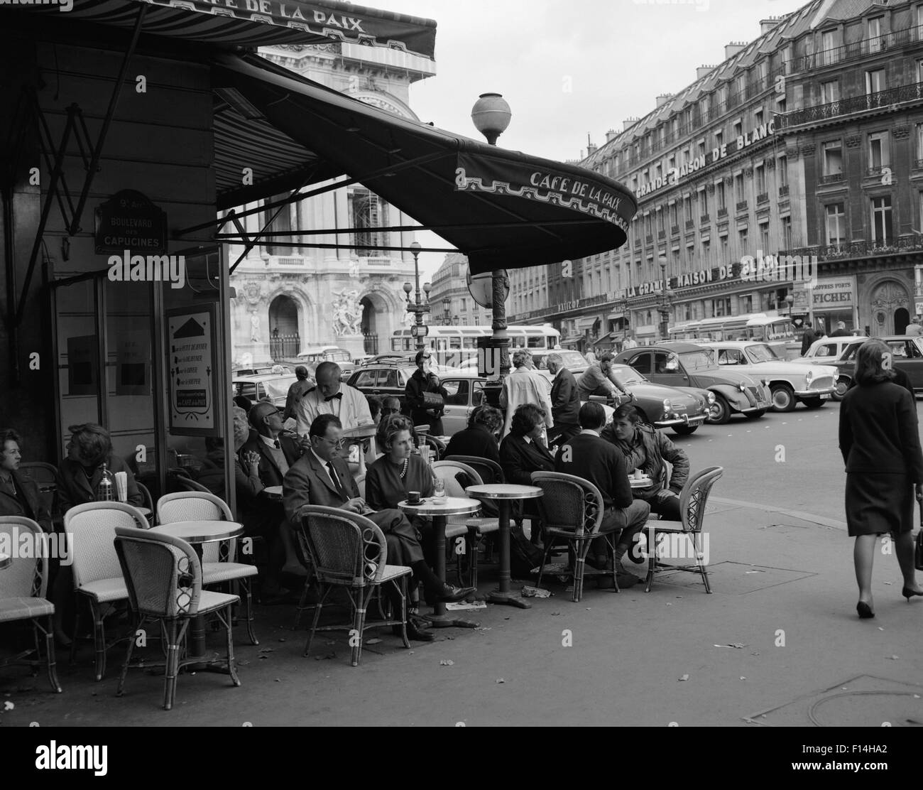Paris Sidewalk Cafe Chairs