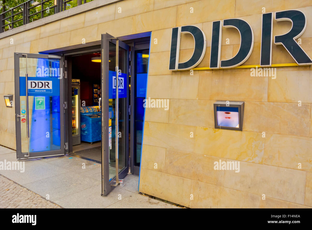 DDR museum, museum of East Germany, Mitte, Berlin, Germany - Stock Image
