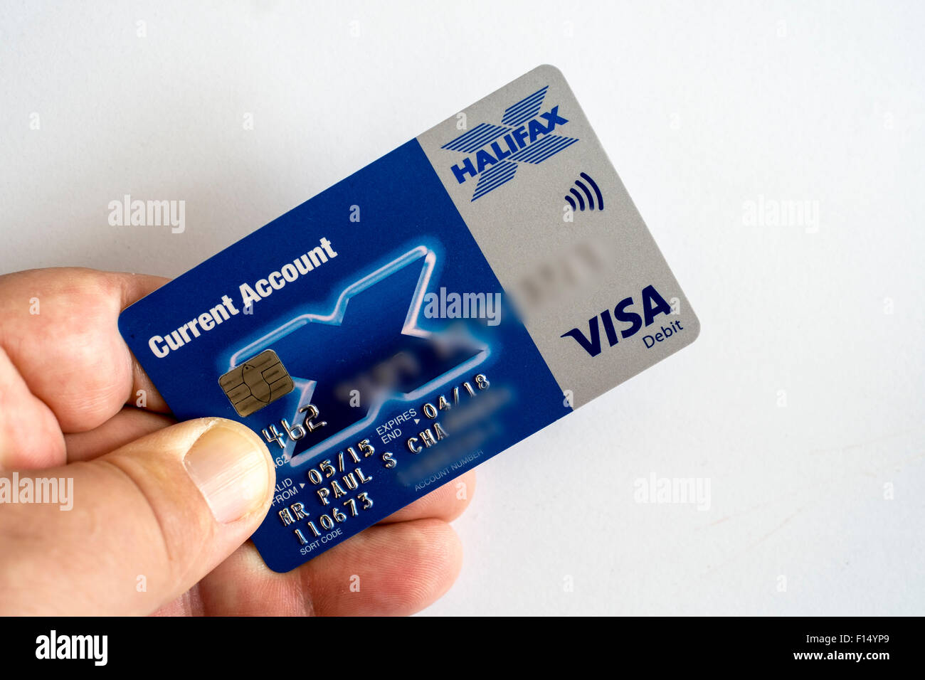 Halifax Bank Card Stock Photos & Halifax Bank Card Stock Images - Alamy
