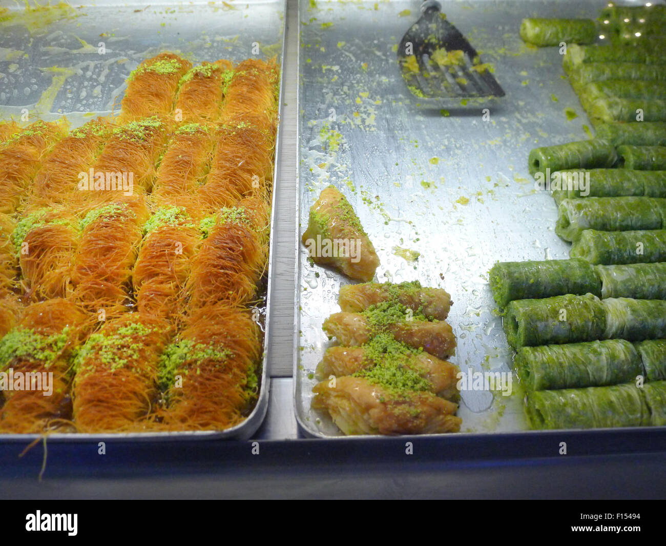 traditionally middle eastern near east cuisine Stock Photo