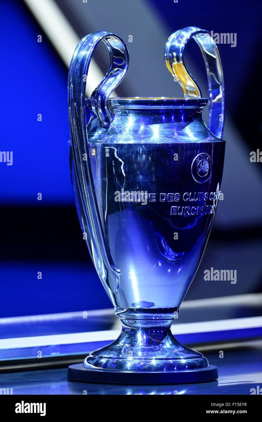 27th Aug 2015 UEFA Champions League Trophy