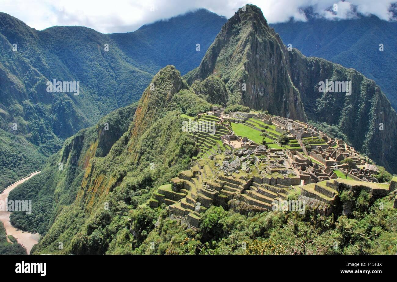 Machu Picchu, Cusco, Peru ! - Stock Image