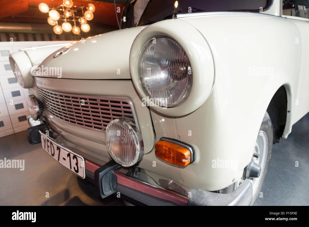 Trabant in the DDR Museum, Berlin, Germany - Stock Image