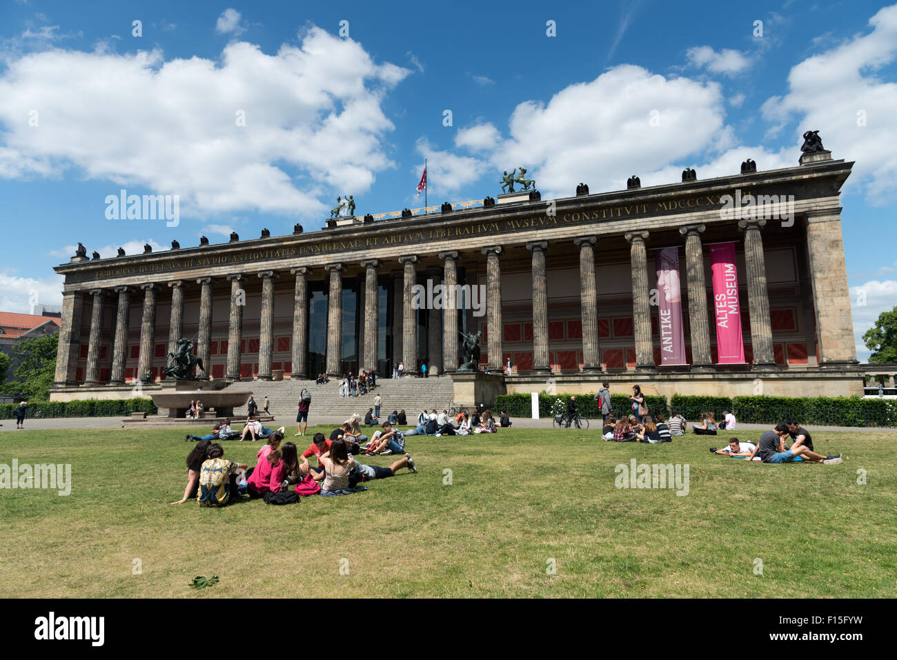 Altes Museum, Berlin, Germany - Stock Image