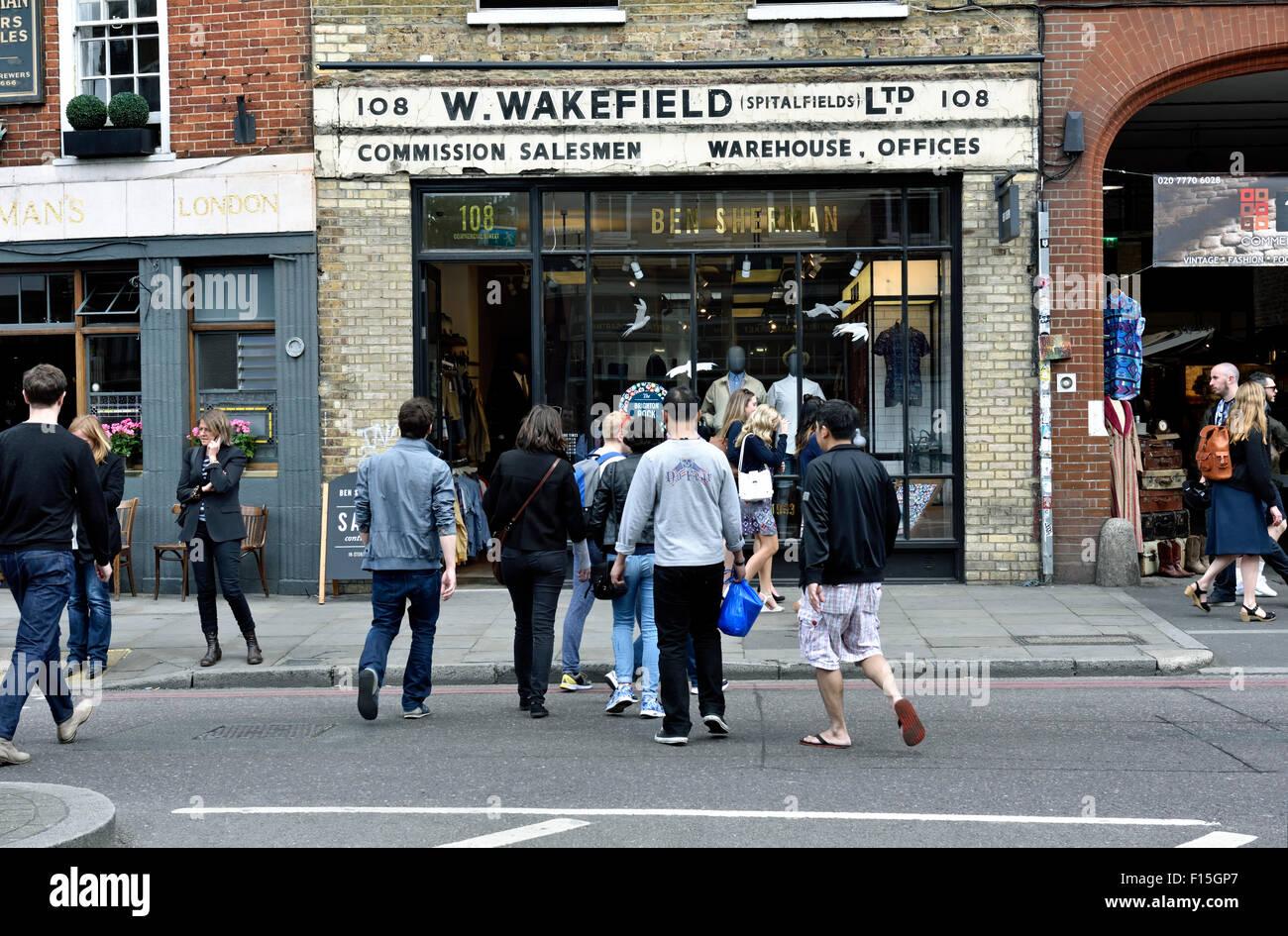 Ben Sherman Spitalfields Socia Watch WB024BRA | Luxury ...