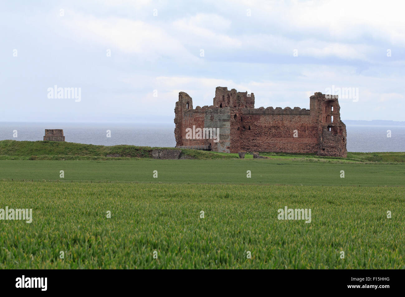 Tantallon Castle, Firth of Forth, North Berwick, East Lothian, Scotland - Stock Image