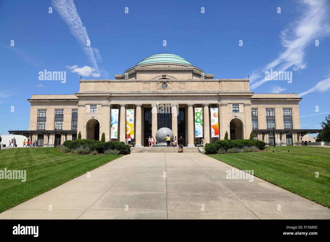 Science Museum of Virginia (Broad Street Station), Richmond, Virginia, USA - Stock Image