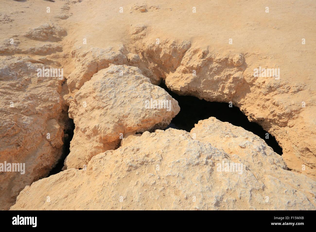 Geology Ras Mohammed - Stock Image