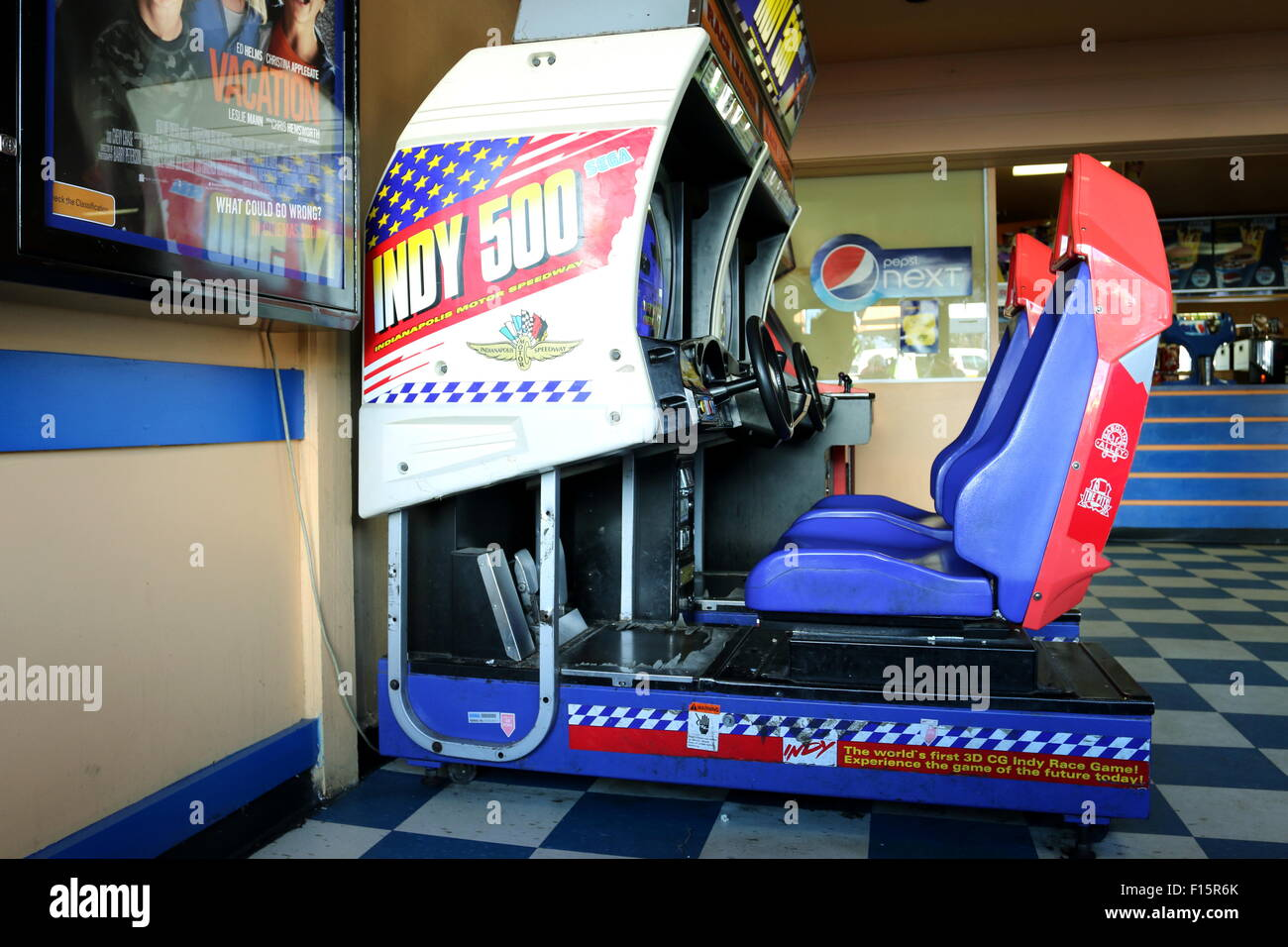 Video arcade game - Stock Image