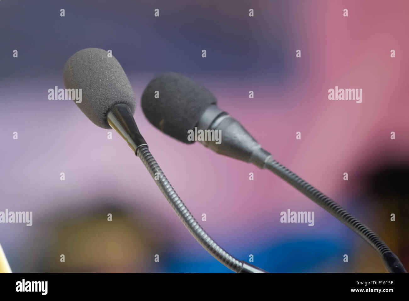 Vocal microphone - Stock Image
