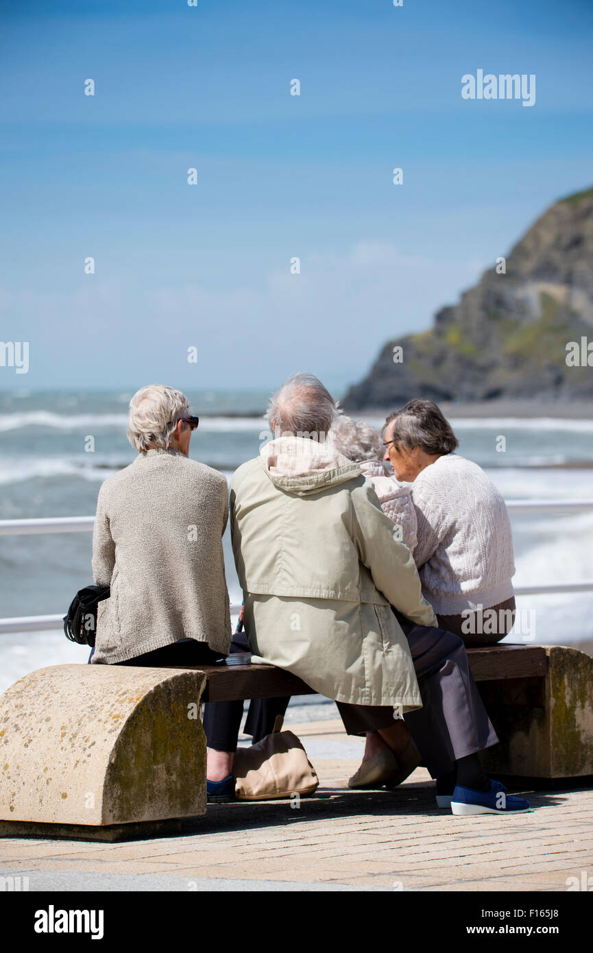 old ladies sitting on bench stock photos  u0026 old ladies