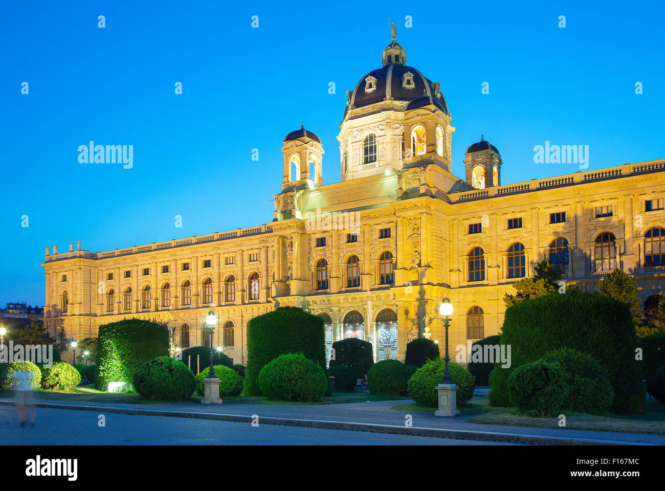 Austria, Vienna, view of Natural History Museum, - Stock Image