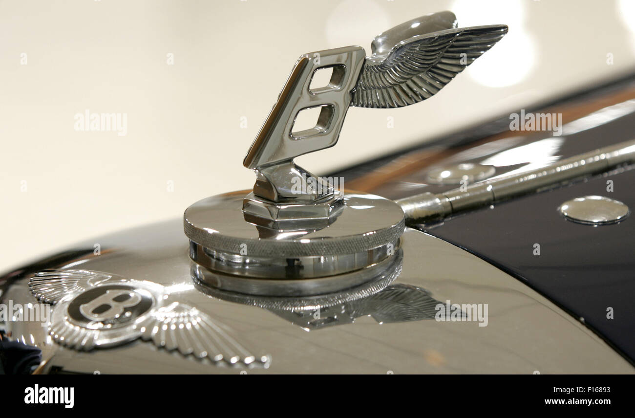 Bentleyproduktion - Stock Image