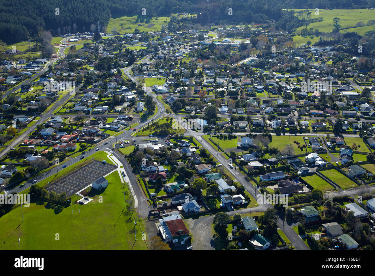 Riverhead, Auckland, North Island, New Zealand - aerial - Stock Image