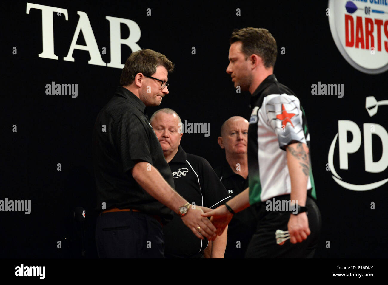 Auckland, New Zealand. 28th Aug, 2015. Auckland Darts Masters ...