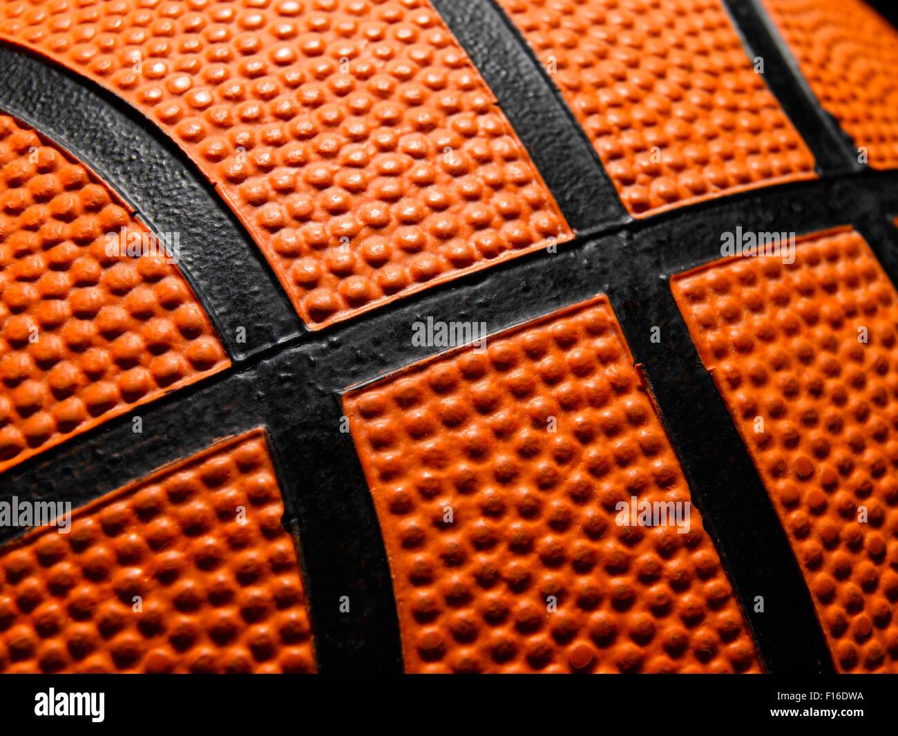 Single Basketball - Stock Image