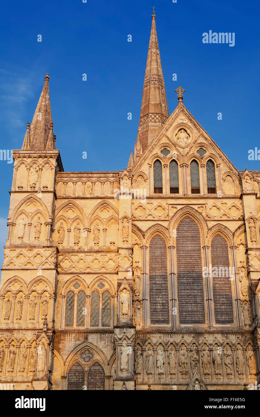 Salisbury Cathedral, Salisbury, Wiltshire, England, Great Britain, U.K - Stock Image