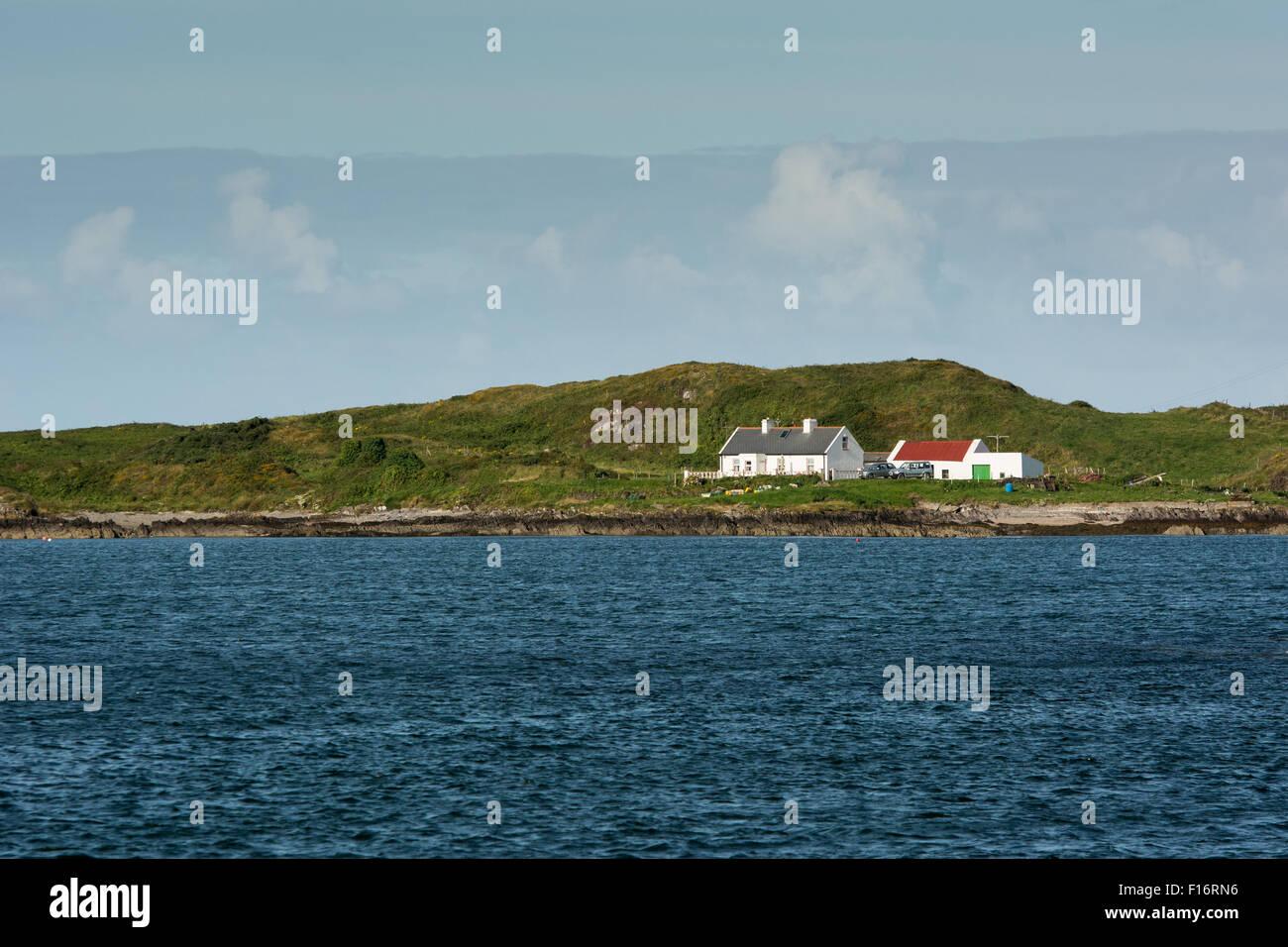 along the Wild Atlantic Way on the West Coast of Ireland - Stock Image