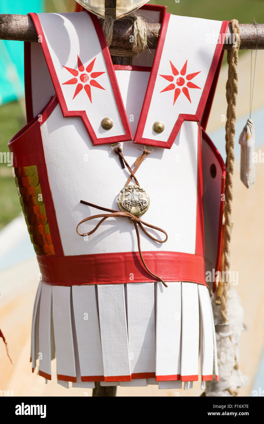 Ancient Greek Soliders tunic - Stock Image
