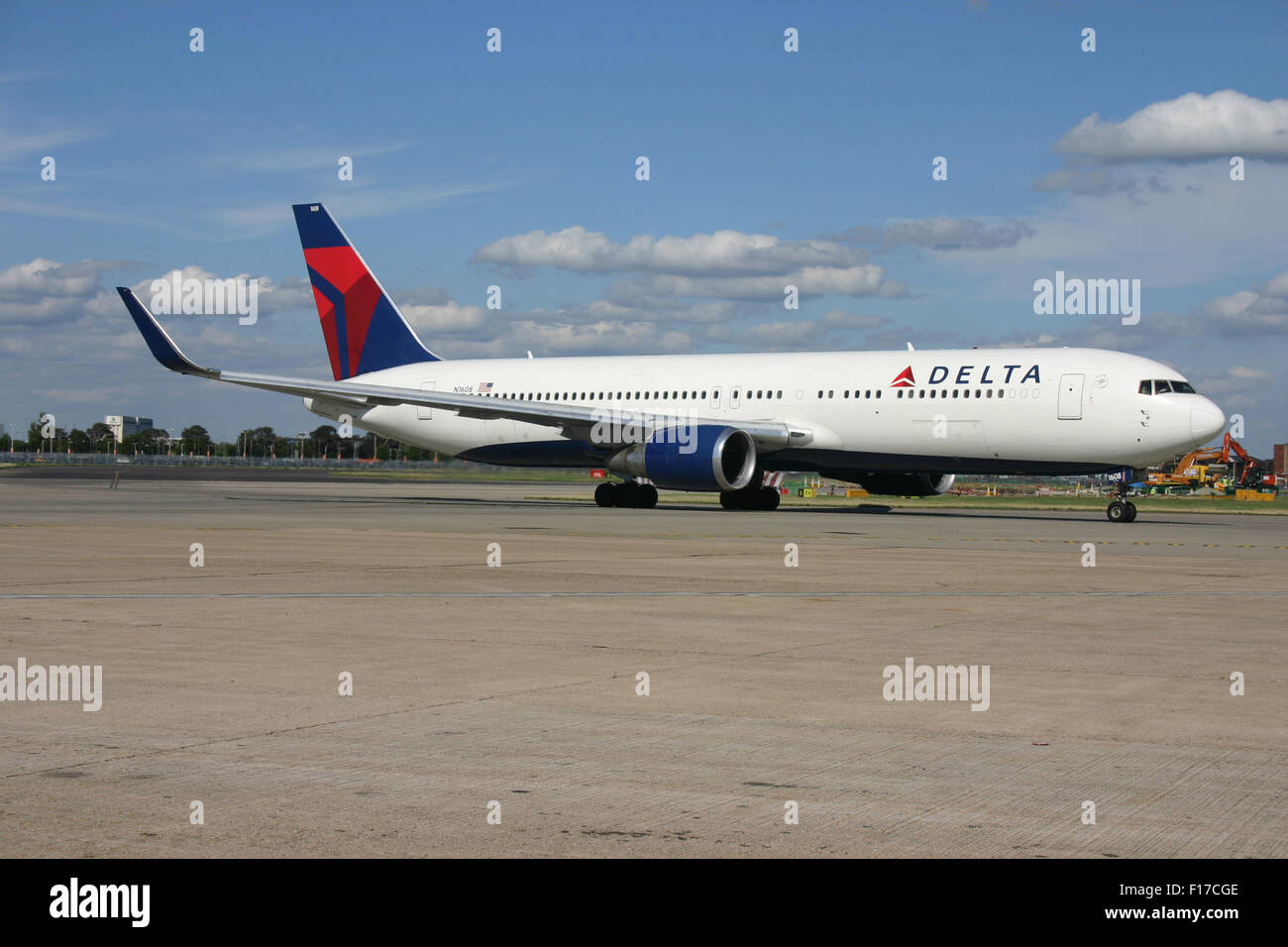 DELTA LLC 767 300 WINGLETS - Stock Image