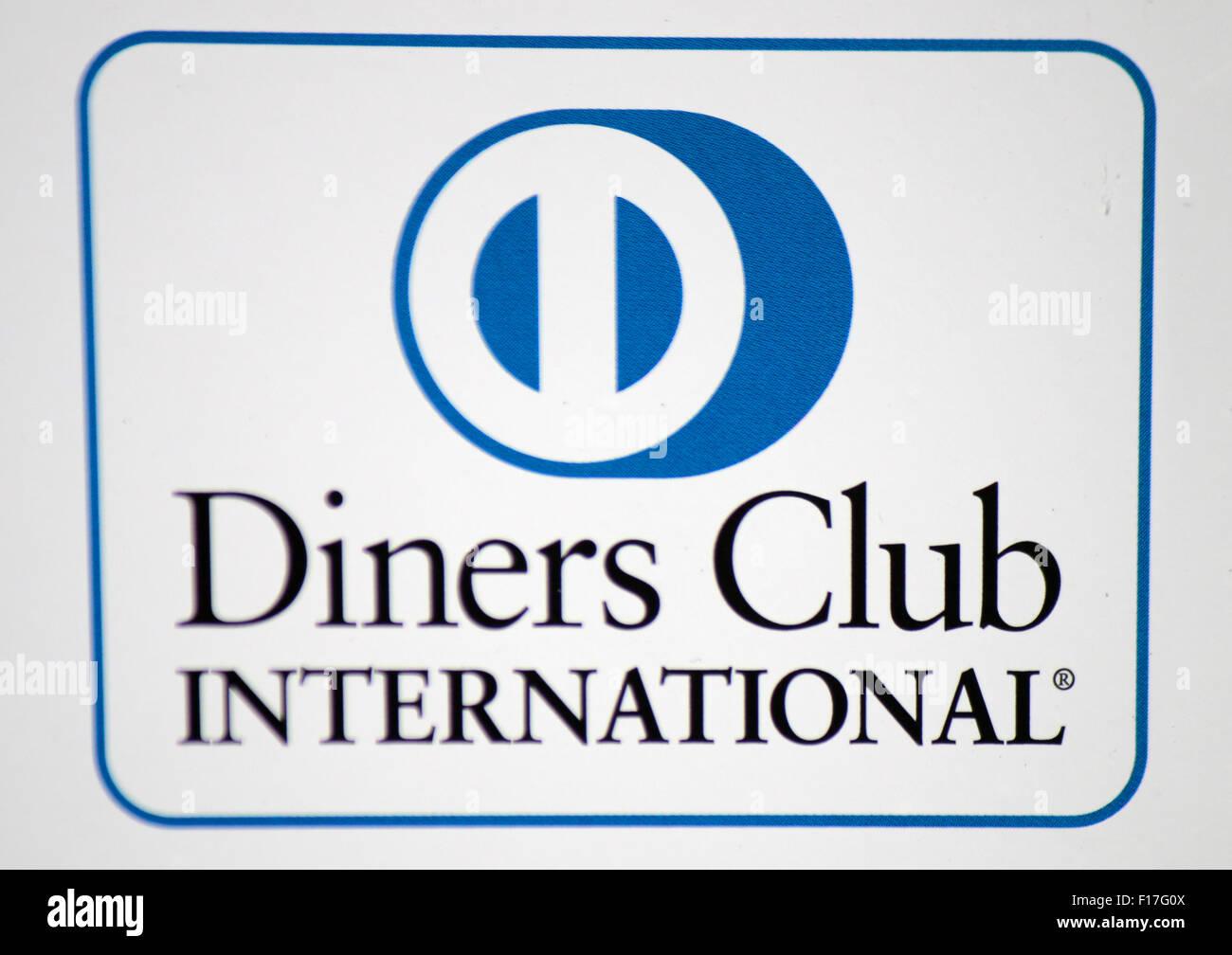 Markennamen: 'Diners Club International', Berlin. - Stock Image