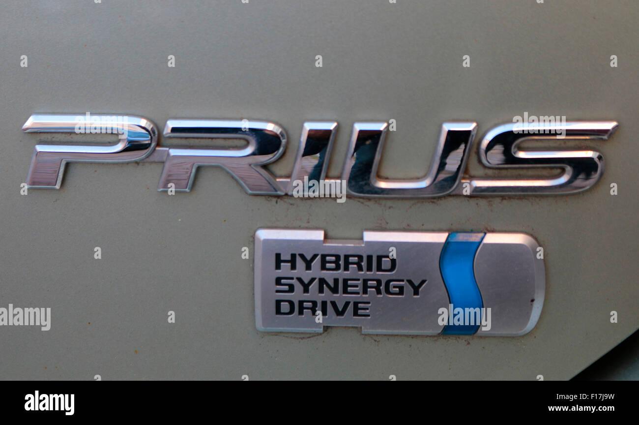 Markennamen: 'Toyota Prius', Berlin. - Stock Image