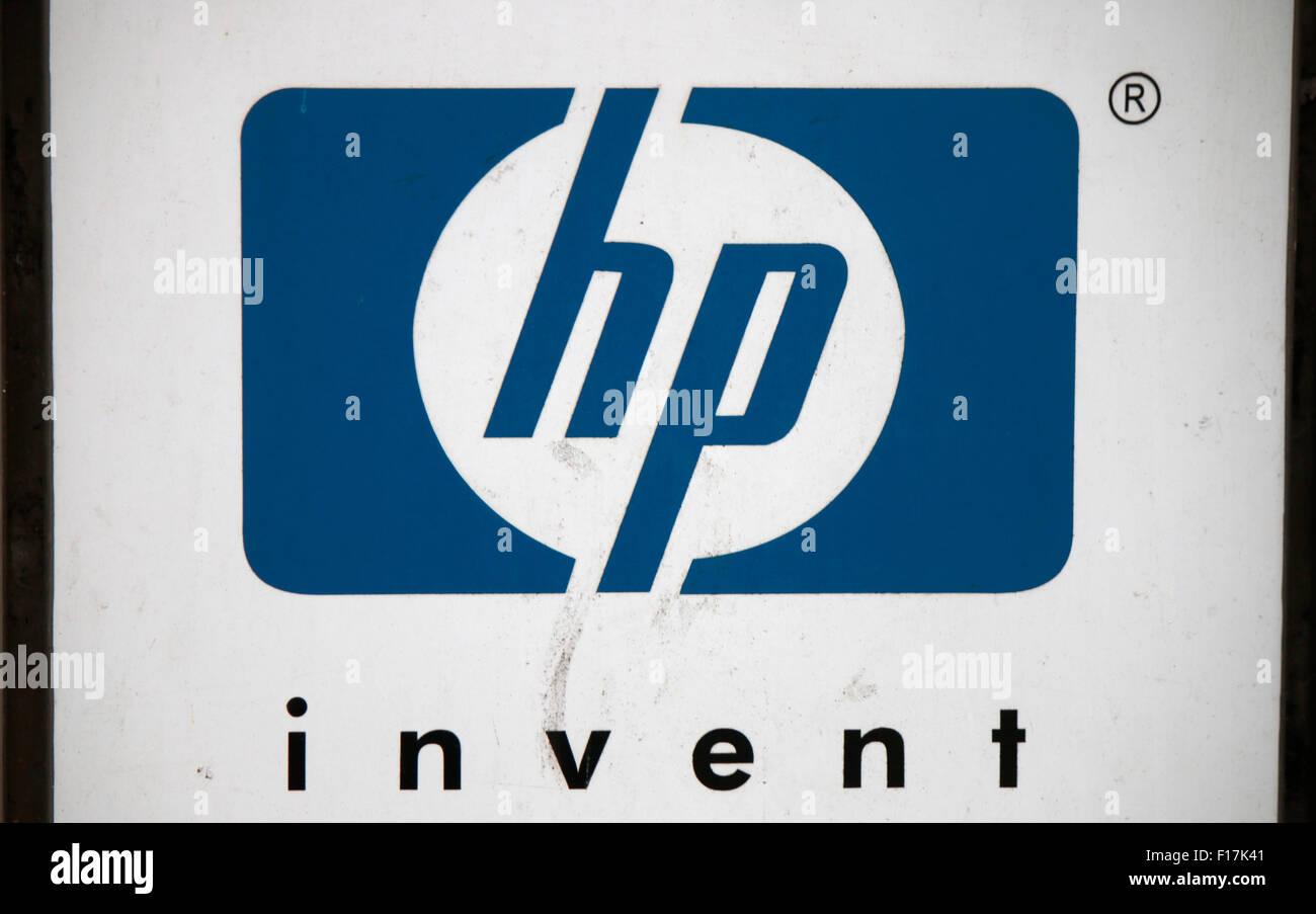 Markennamen: 'HP invent', Berlin. - Stock Image