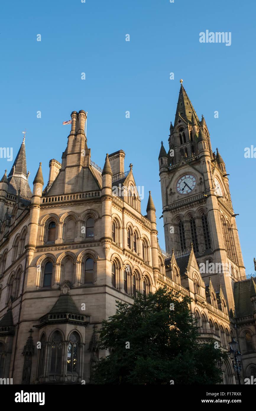 Manchester Town Hall, Princess Street, Manchester, England - Stock Image